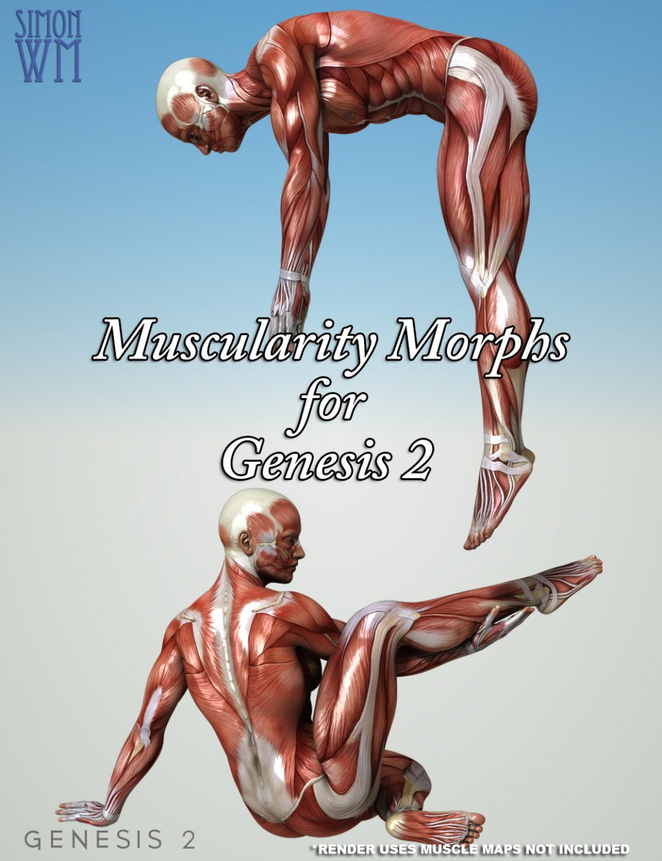 Muscularity Morphs Genesis 2 Bundle