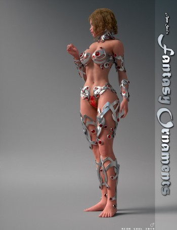 Fantasy Ornaments for Genesis 2 Female(s)
